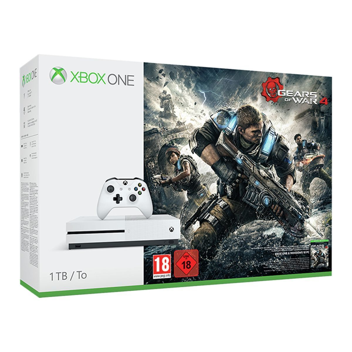 Xbox One S 1tb Gears Box